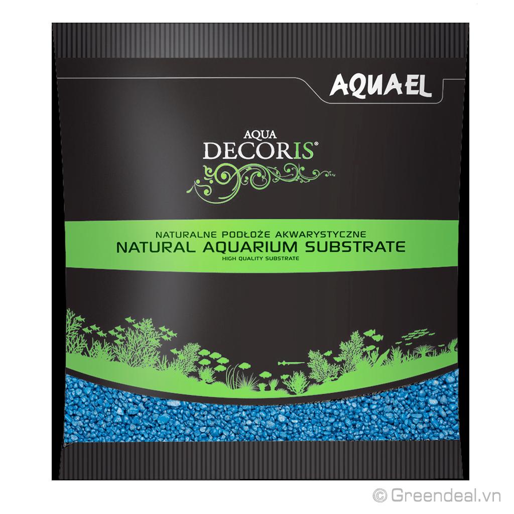 AQUAEL - Multi-Colour Quartz Gravel (Blue)