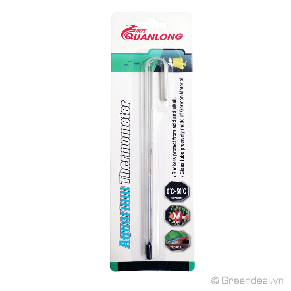 QUANLONG - Aquarium Thermometer (No.2)