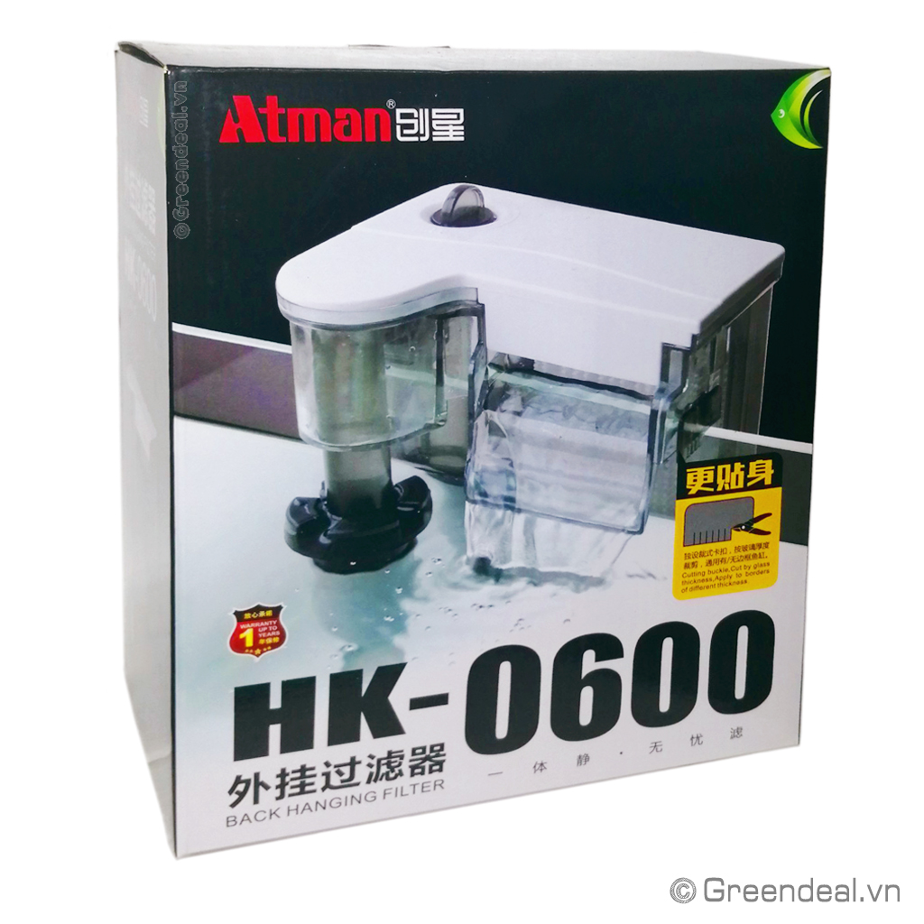 ATMAN - Back Hanging Filter (HK-0600)