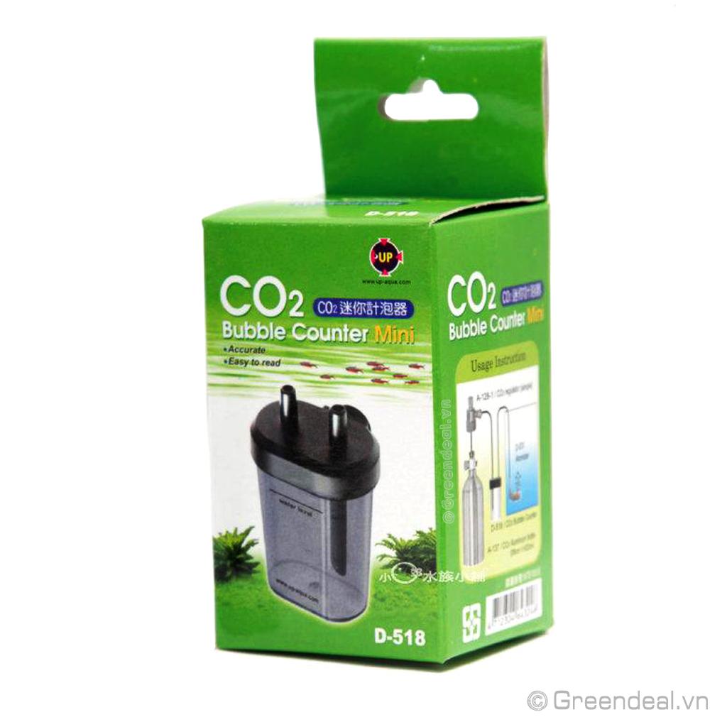 UP AQUA - CO2 Bubble Counter Mini (D-518)