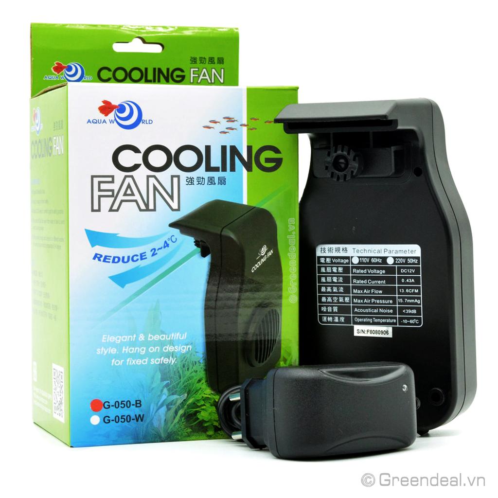 AQUA WORLD - Cooling Fan (G-050-B)