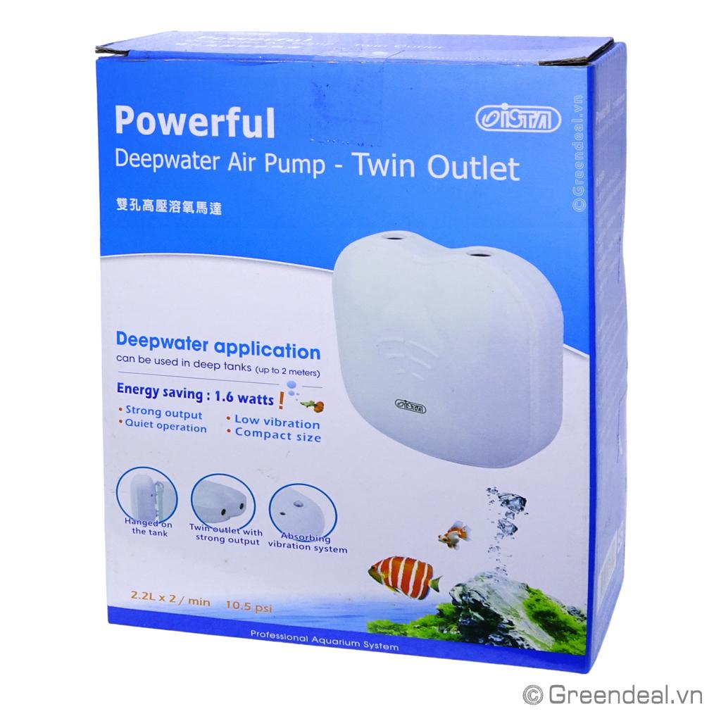 ISTA - Deepwater Air Pump (Twin Outlet)