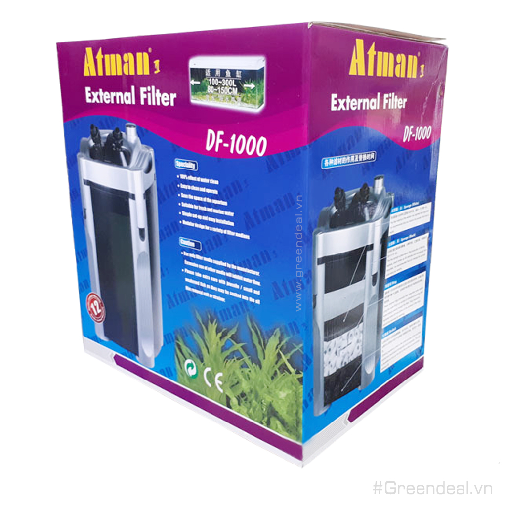 ATMAN - External Filter DF-1000