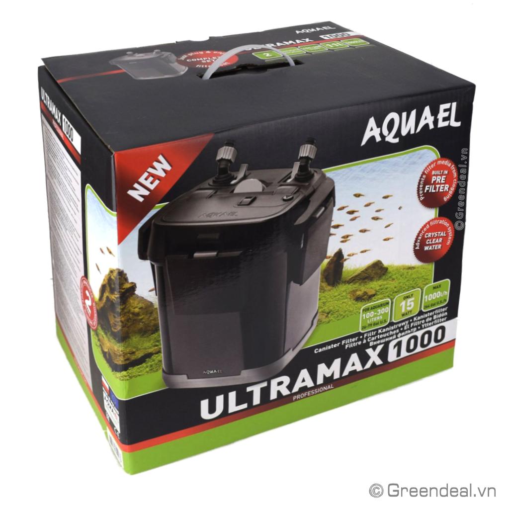 AQUAEL - External Filter UltraMax 1000