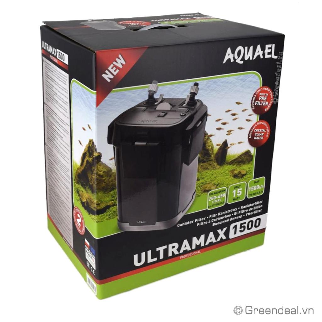 AQUAEL - External Filter UltraMax 1500