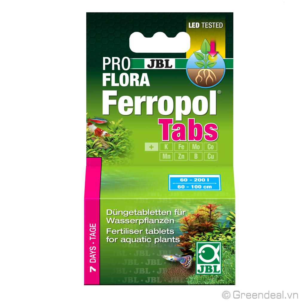JBL ProFlora - Ferropol Tabs