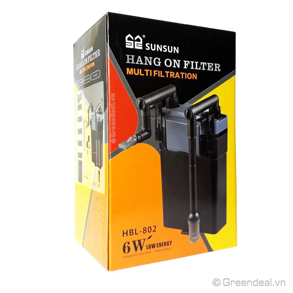 SUNSUN - Hang On Filter HBL-802