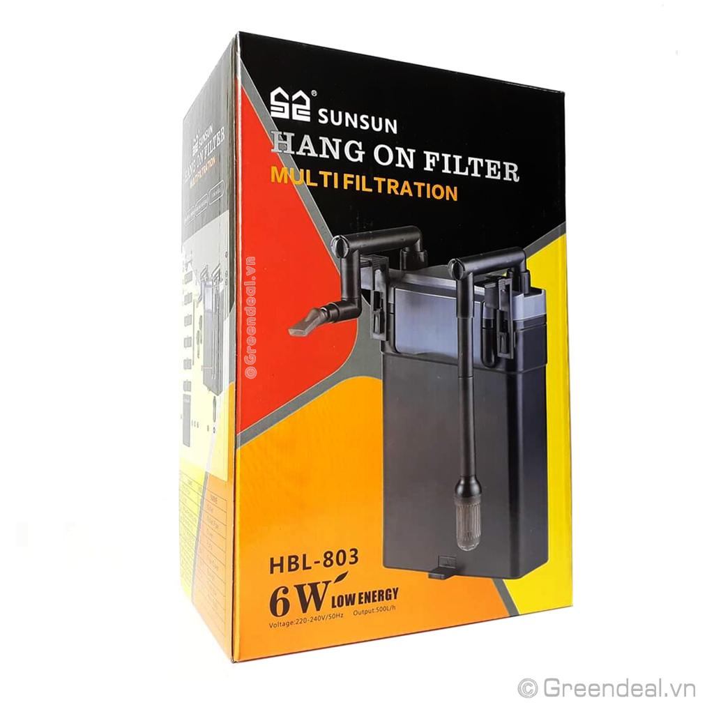 SUNSUN - Hang On Filter HBL-803