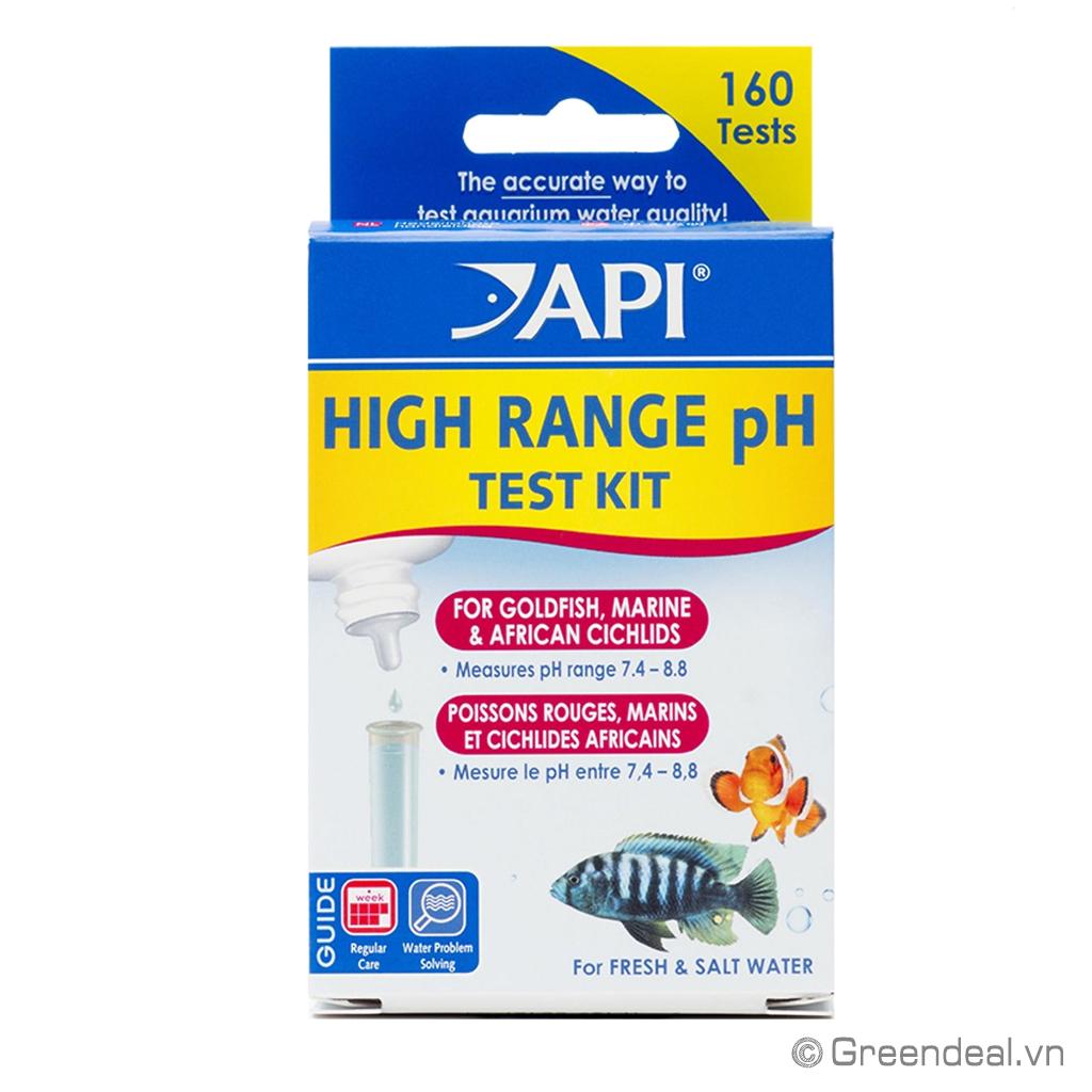 API - High Range pH Test Kit