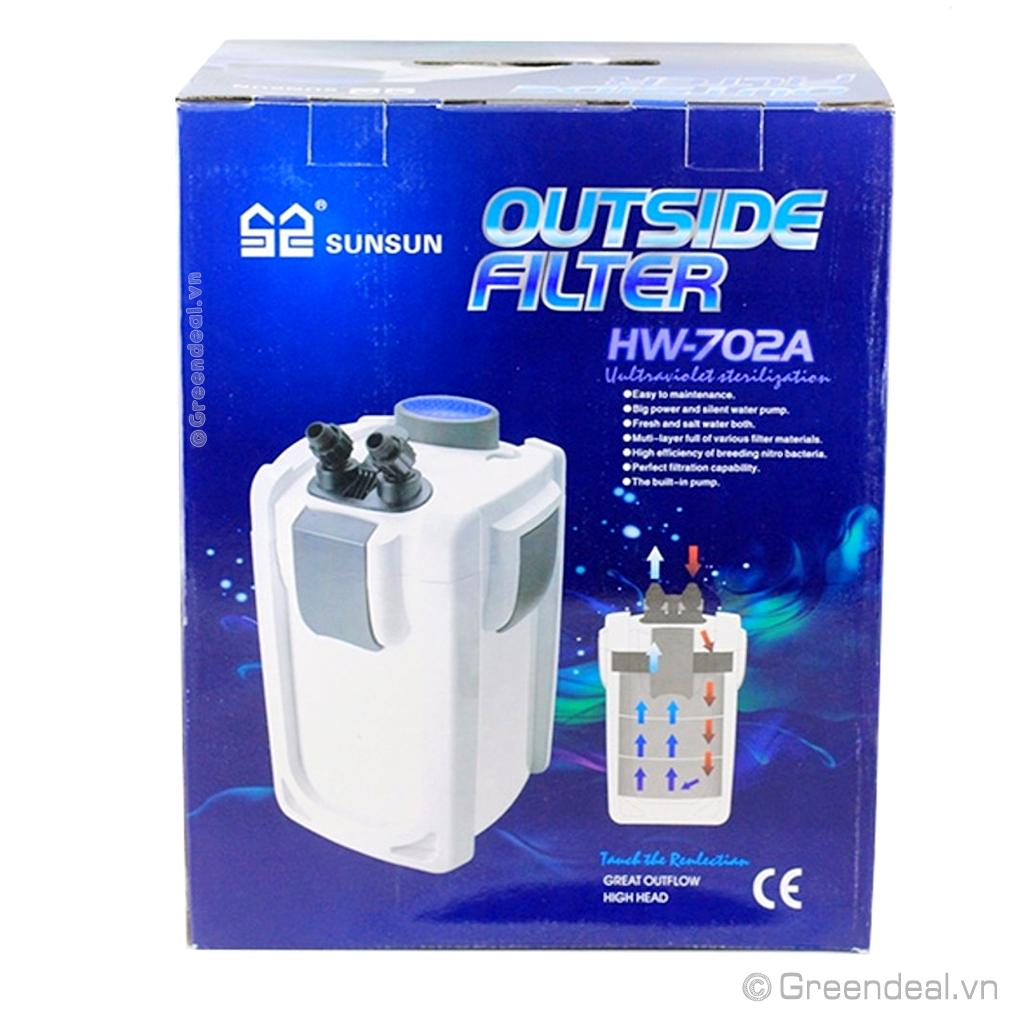 SUNSUN - Outside Filter HW-702A
