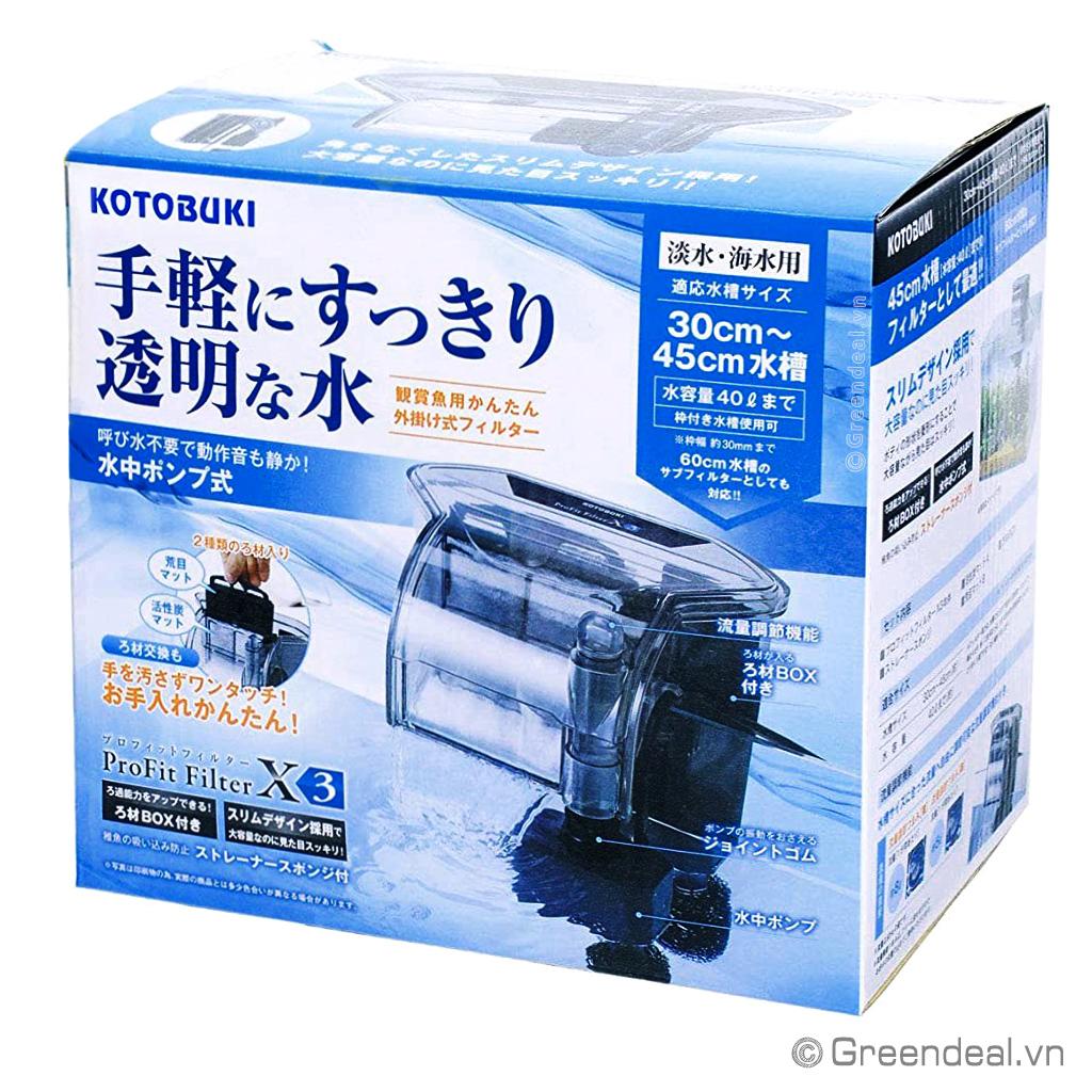KOTOBUKI - ProFit Filter (X-3)