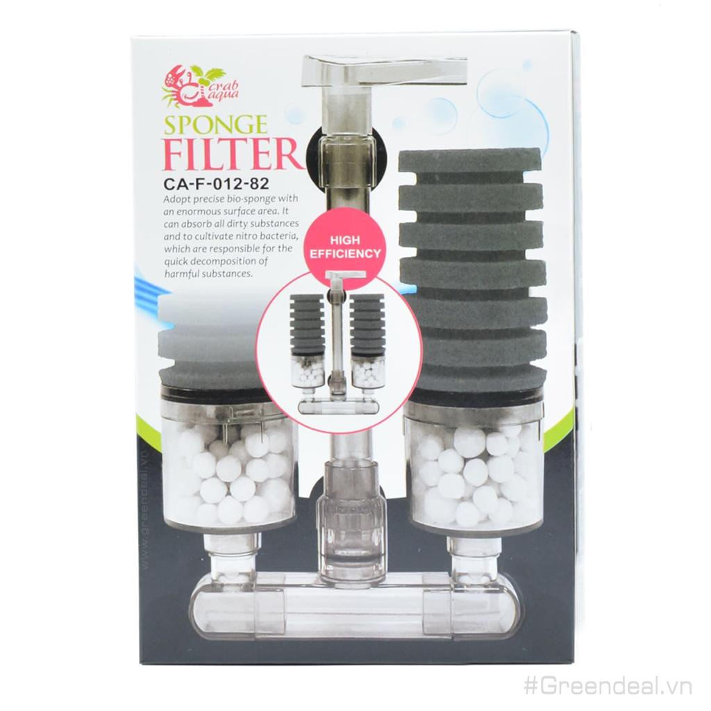 CRAB AQUA - Sponge Filter CA-F-012-82