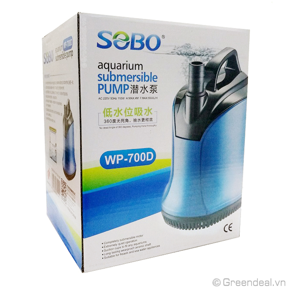 SOBO - Submersible Pump WP-700D