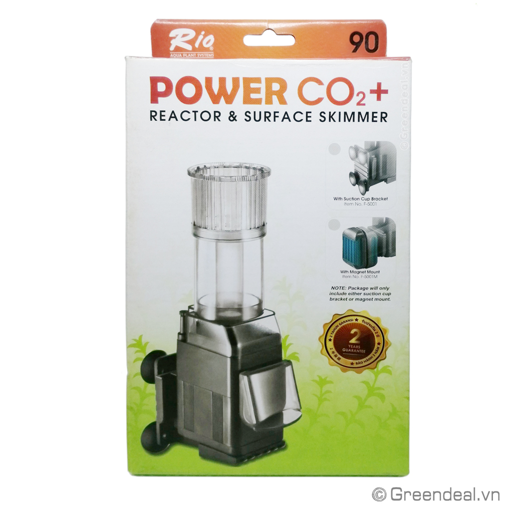 RIO - Reactor & Suface Skimmer Power CO2+ 90