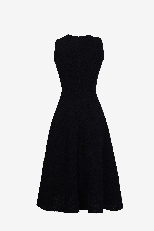 Đầm A cổ đắp chéo #2954