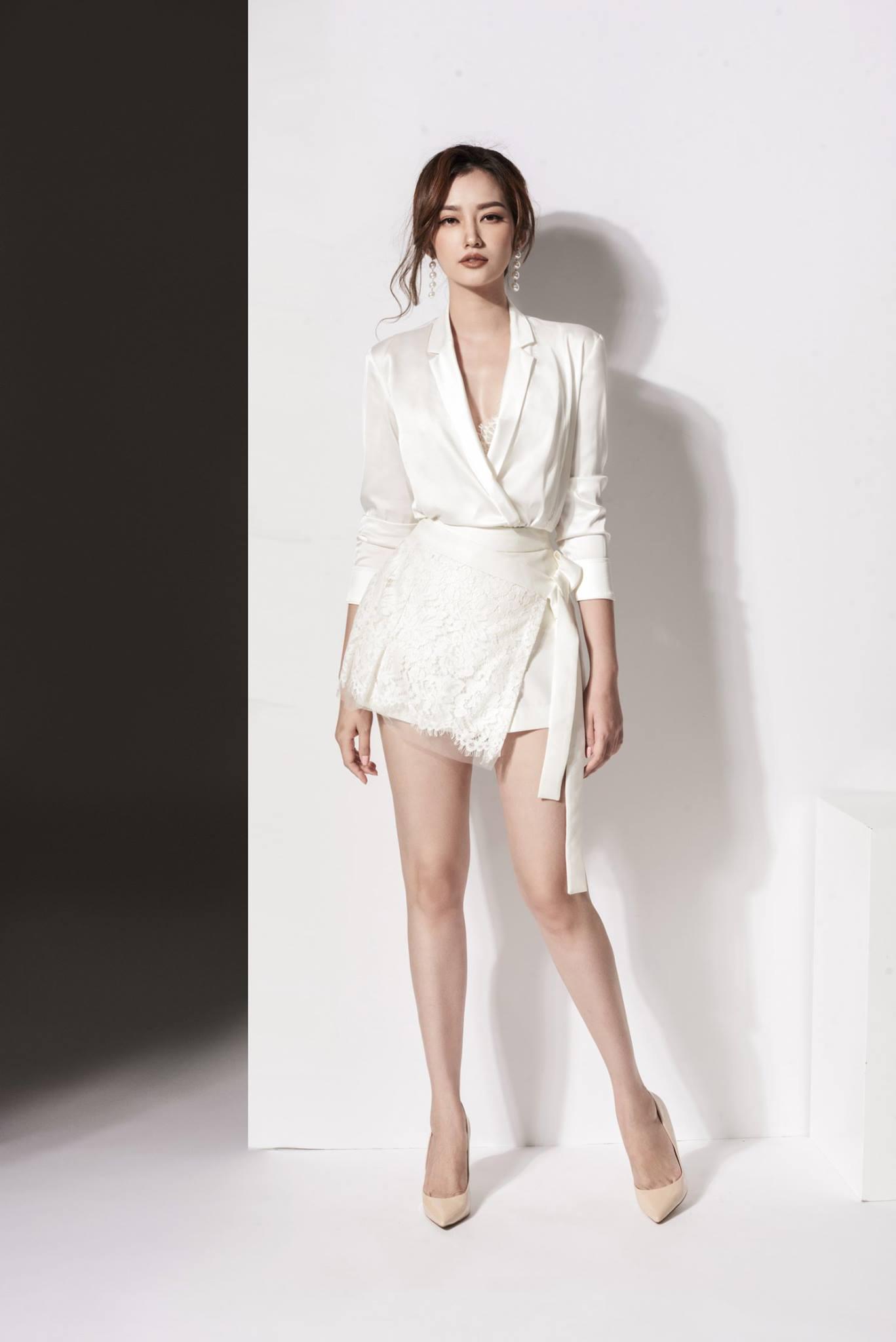 Set váy áo tay dài cột eo #1501