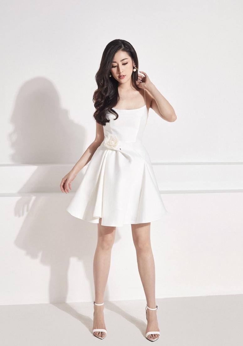 Đầm xòe cúp ngực 2 dây thiết kế nữ tính cao cấp #2471