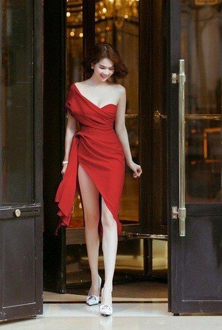 Đầm cúp body tà dài #2541