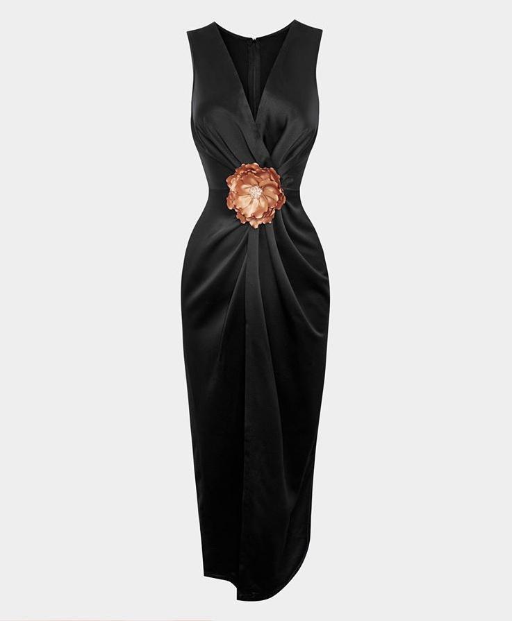 Đầm body sát nách chéo eo thiết kế tinh tế cao cấp #2574