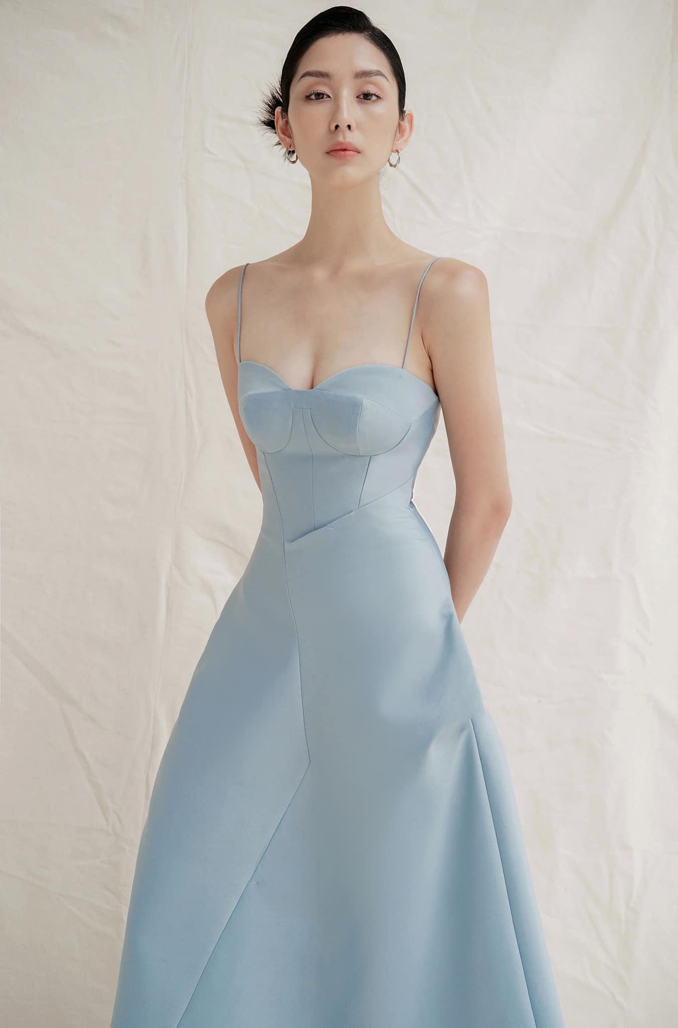 Đầm xoè cúp ngực 2 dây #2803