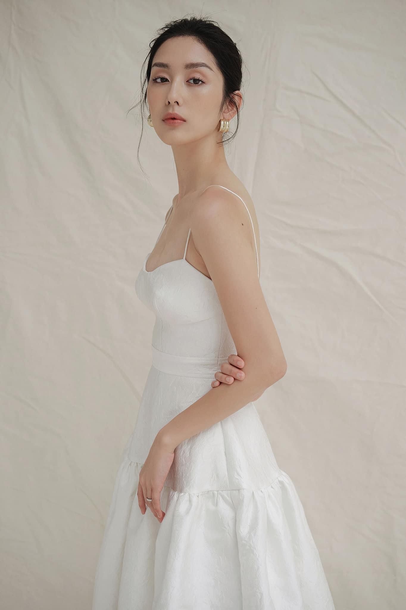 Đầm xoè dài cúp ngực 2 dây #2785