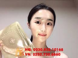 Mặt Nạ Thạch Vàng Chống Lão Hóa, Hanmeryeo Premium Hydrogel Mask