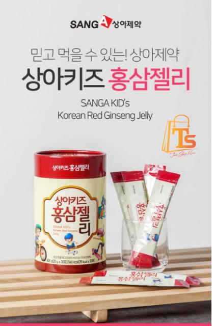 Thạch Hồng Sâm baby sanga Hàn Quốc