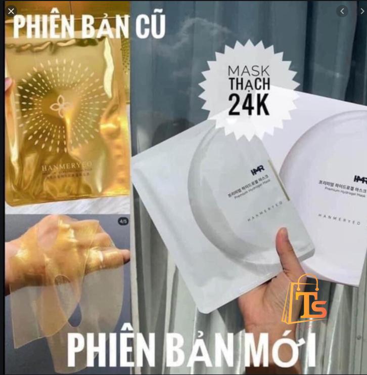 Mặt nạ thạch vàng COLLAGEN 24k HANMERYEO
