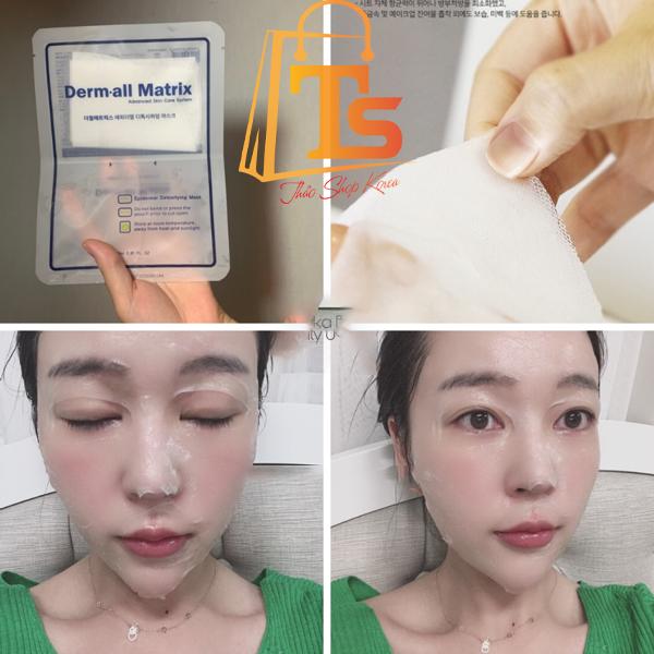 Mặt Nạ Giấy Thải Độc Giúp Da Hấp Thụ Derm All Matrix Epidermal Detoxifying Mask