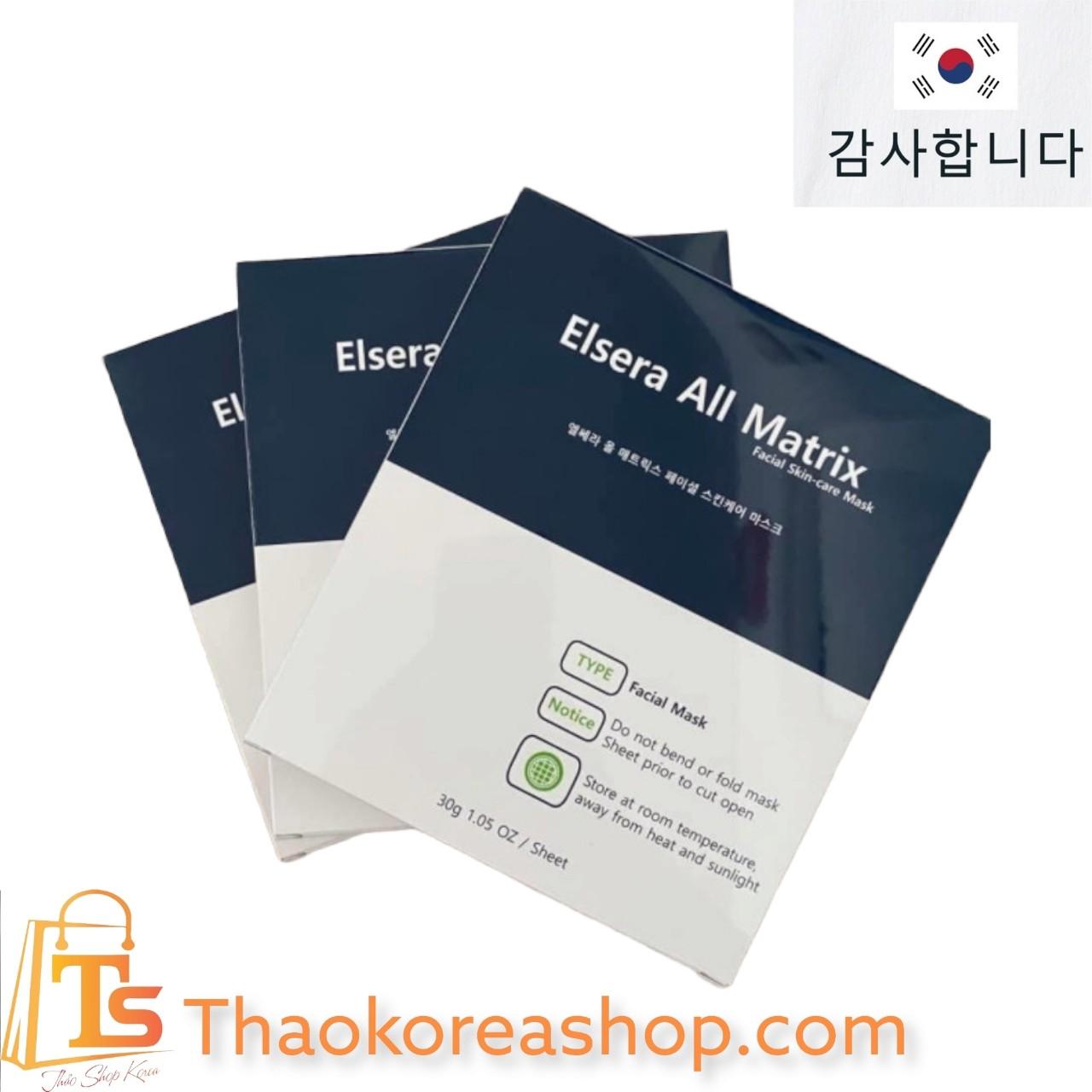 Mặt nạ thạch Elsera All Matrix Facial Dermall Care Mask dưỡng trắng, chống lão hóa 30g -8809310876372
