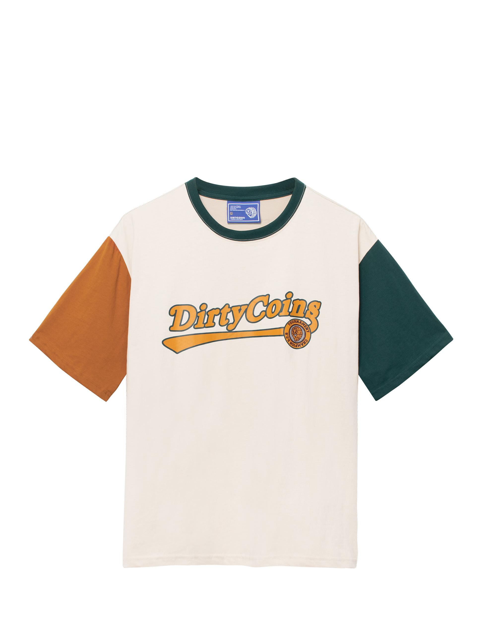 DirtyCoins Big Logo Jacket - Orange/White