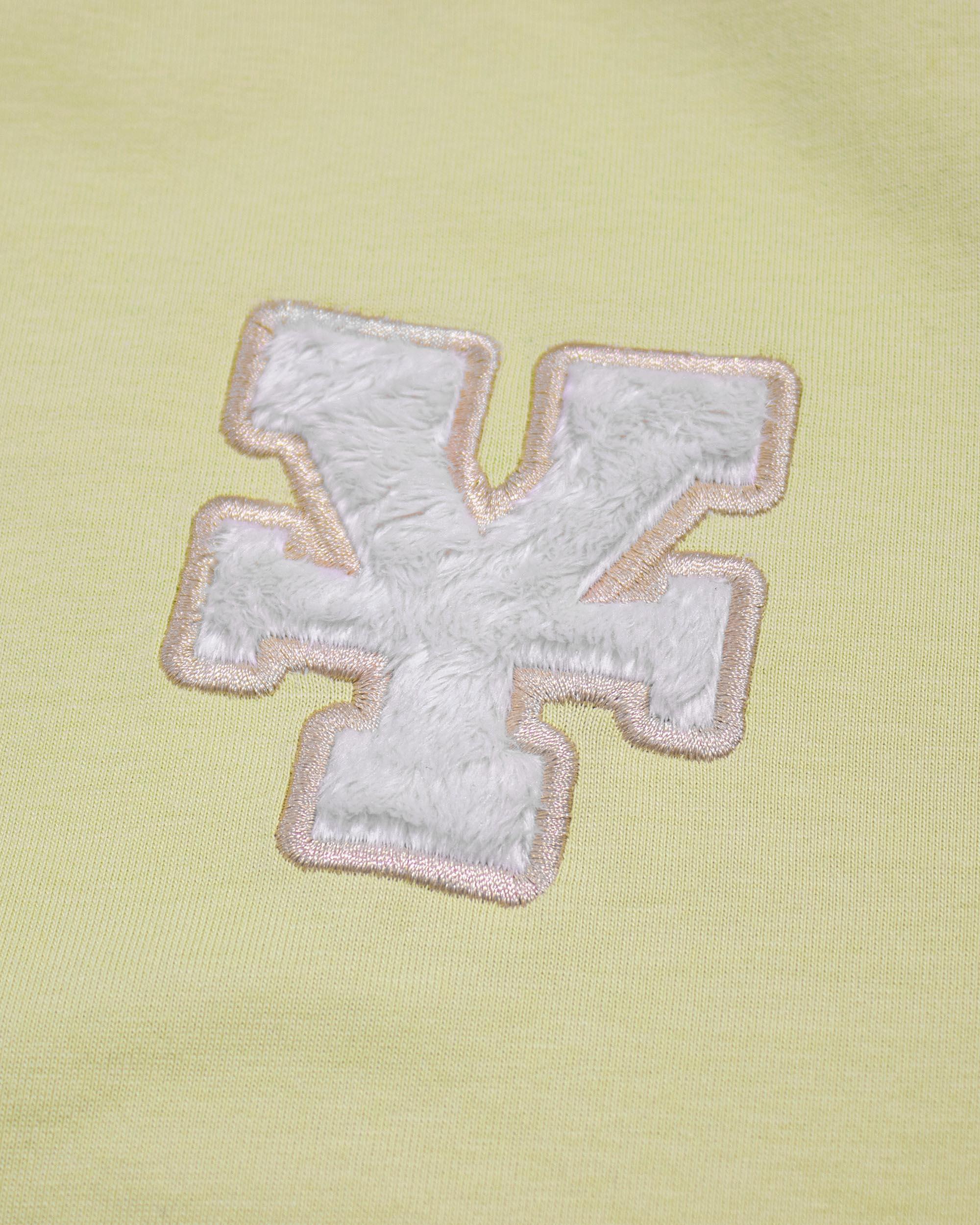 DirtyCoins Y Basic T-Shirt  - Lemon
