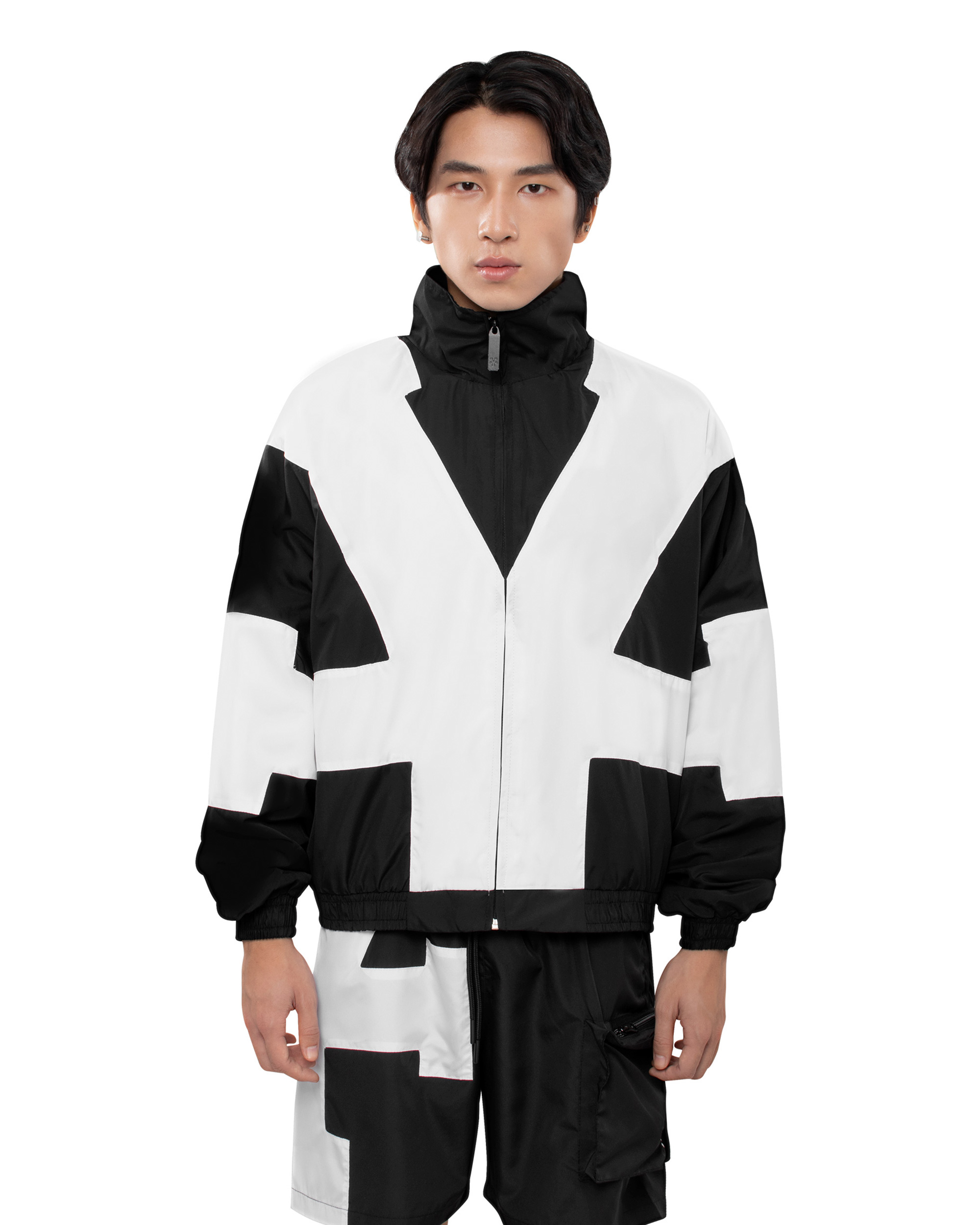DirtyCoins Big Logo Jacket - Black/White