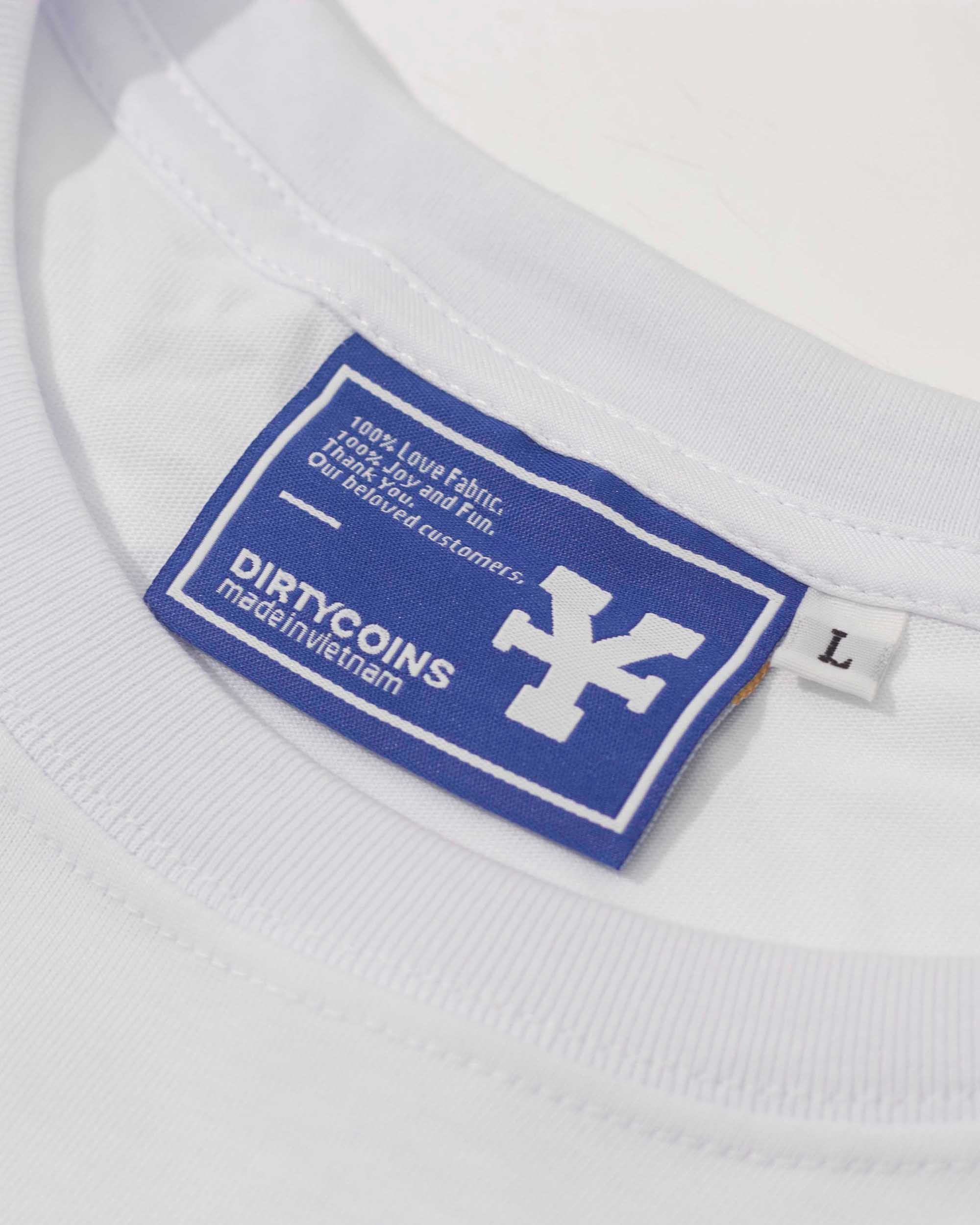 Embroidered patch T-Shirt - White