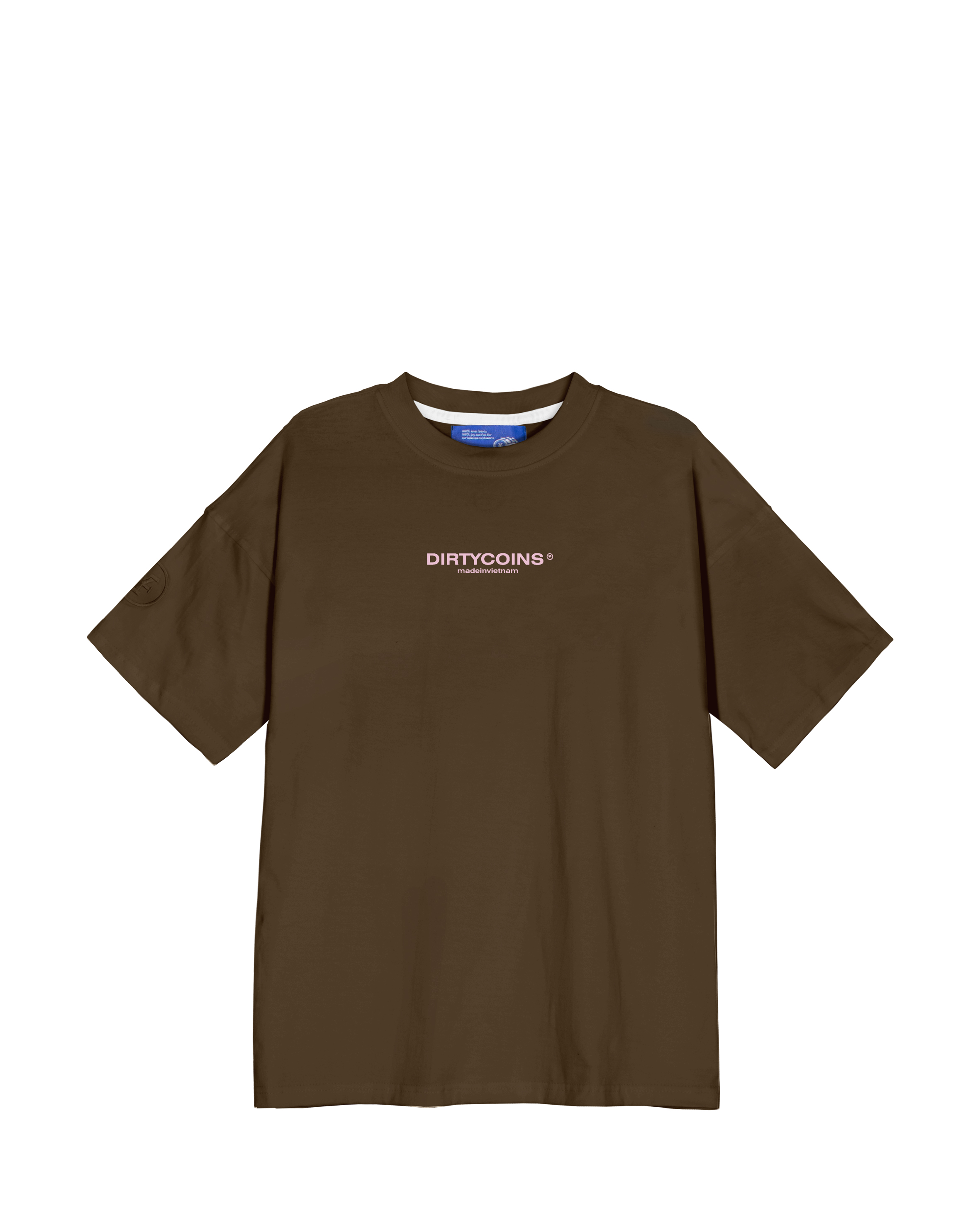 DirtyCoins Bandana T-Shirt - Brown