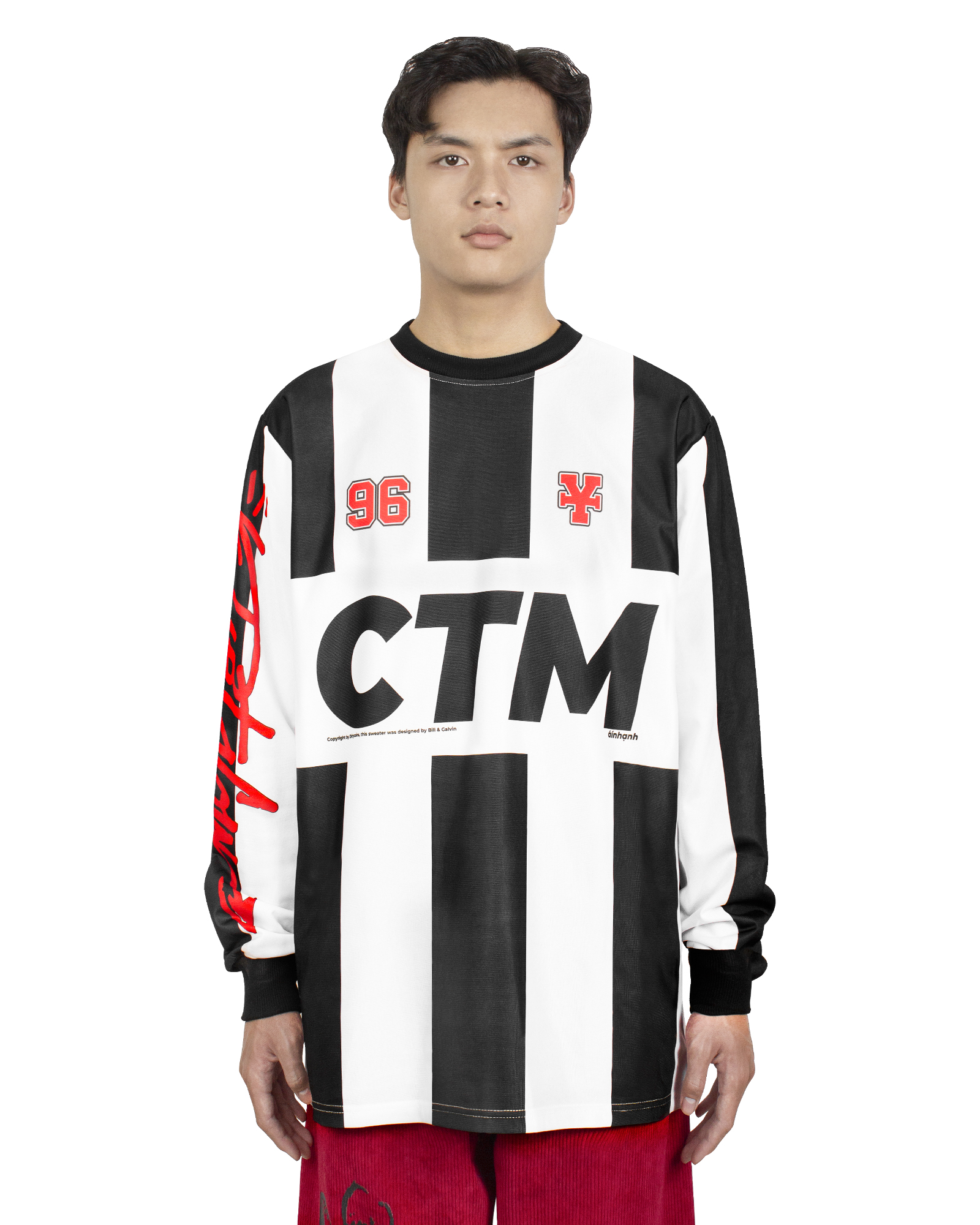 DirtyCoins CTM L/S Soccer Jersey