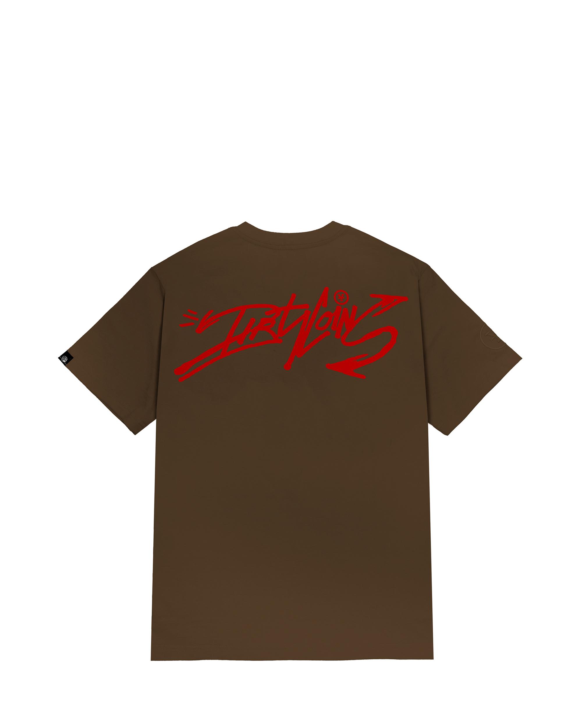 DirtyCoins Graffitee - Brown
