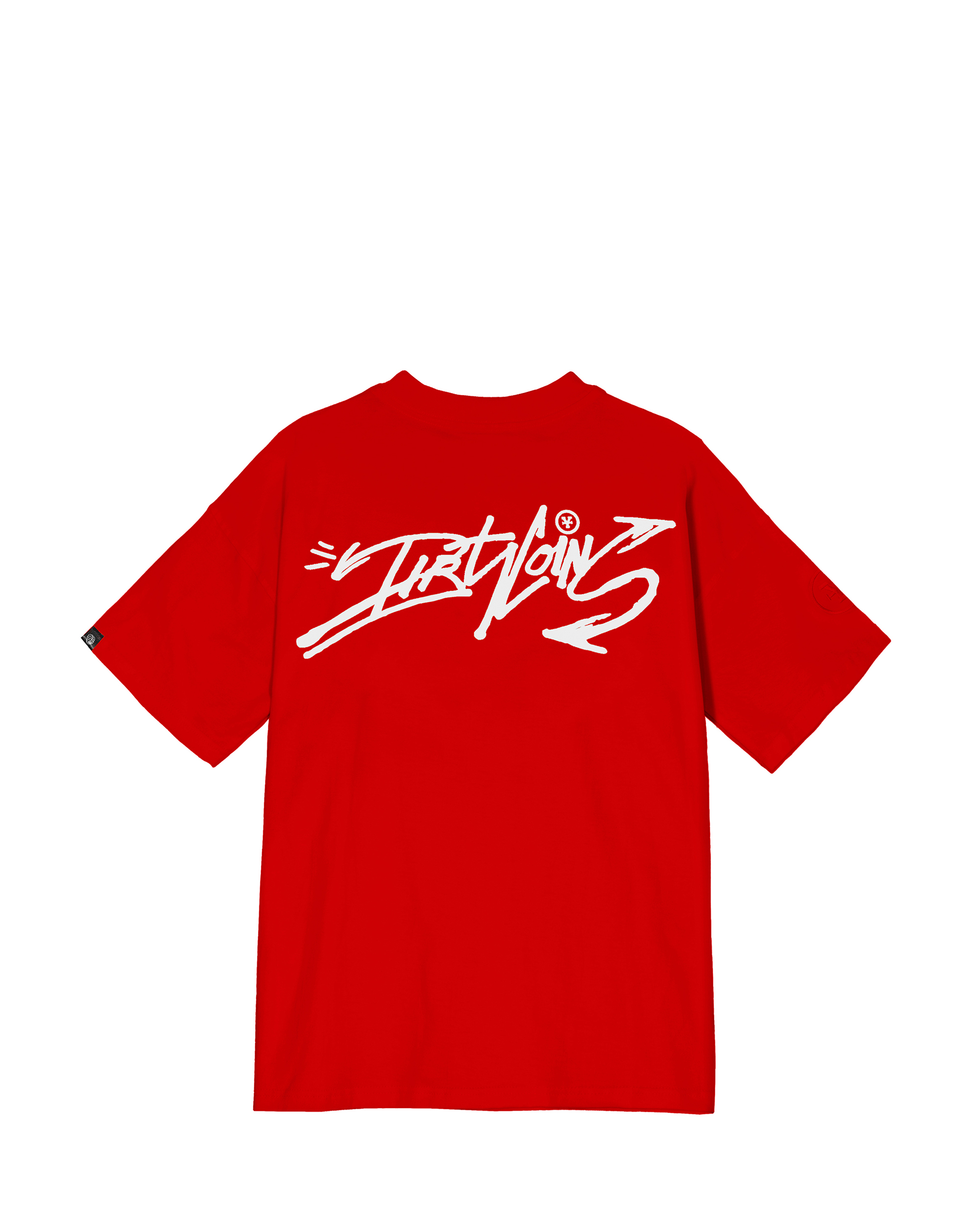DirtyCoins Graffitee - Red