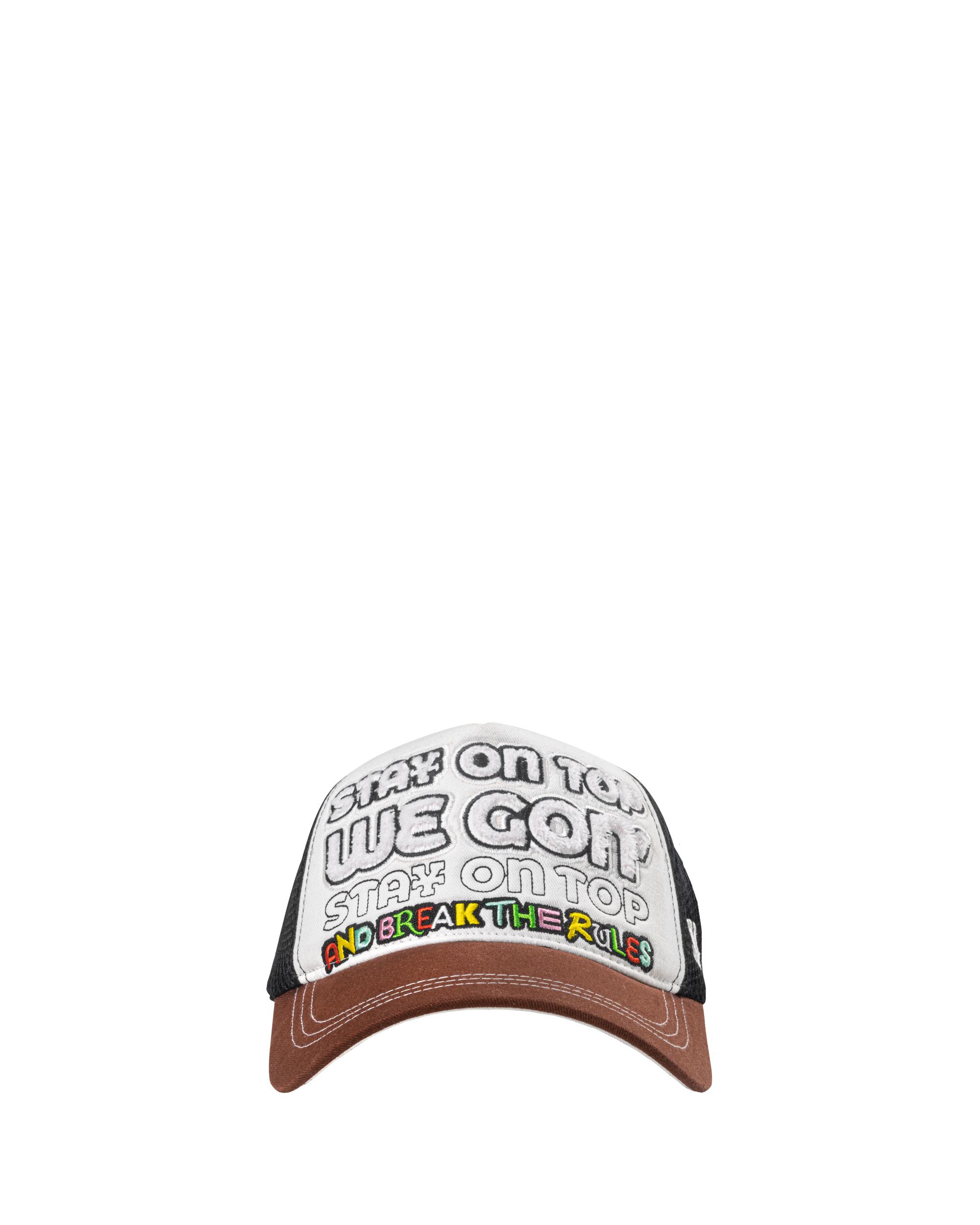 DirtyCoins On Top Trucker Hat - Brown