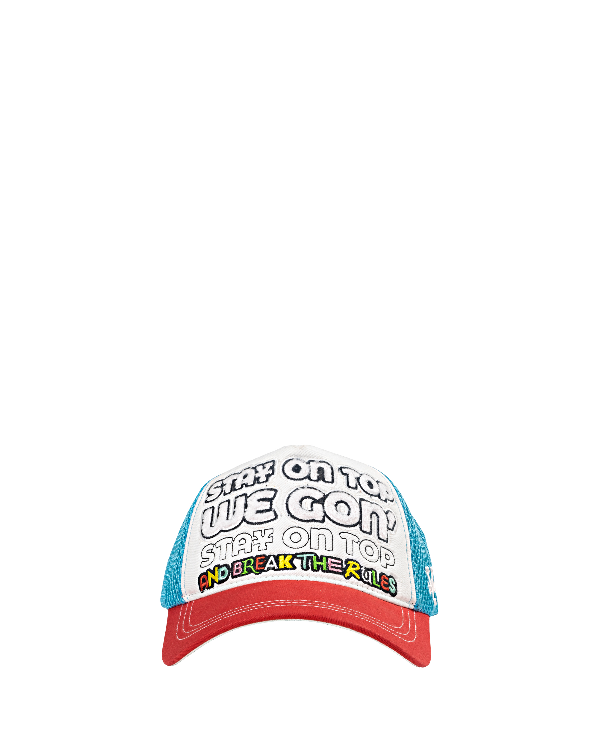 DirtyCoins On Top Trucker Hat - Tricolor