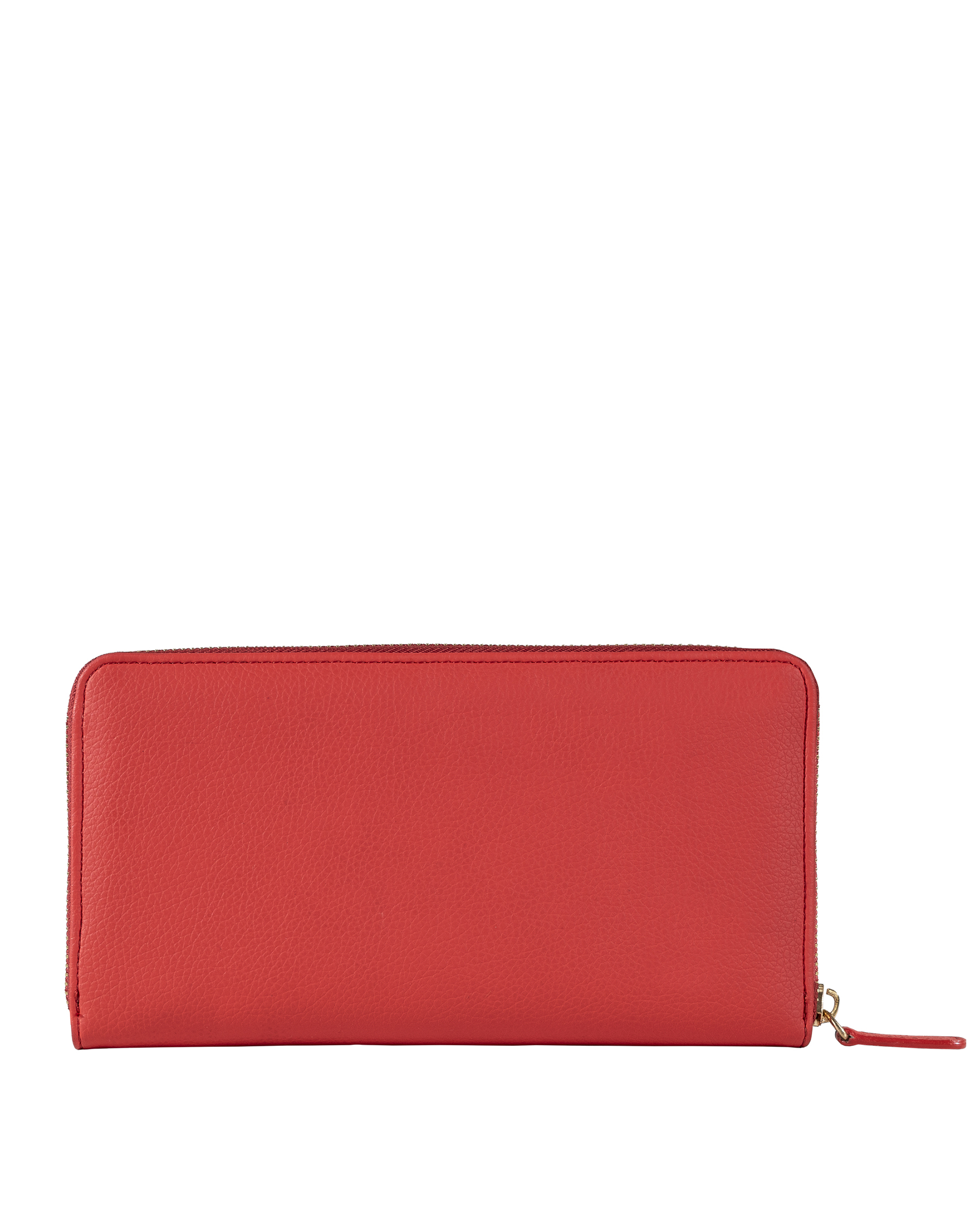DirtyCoins Y Logo Zip Wallet - Red