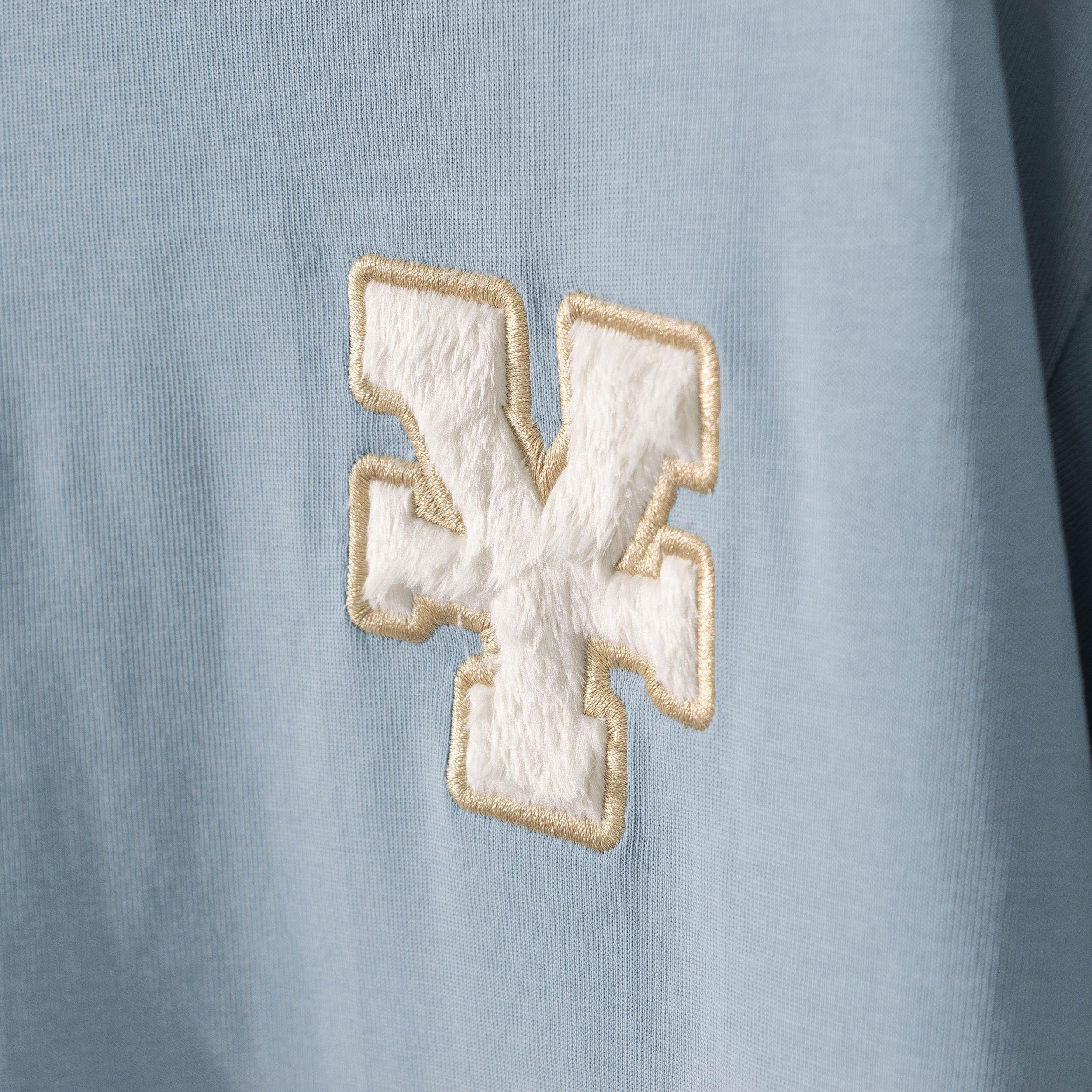 DirtyCoins Y Basic T-Shirt  - Sky Blue
