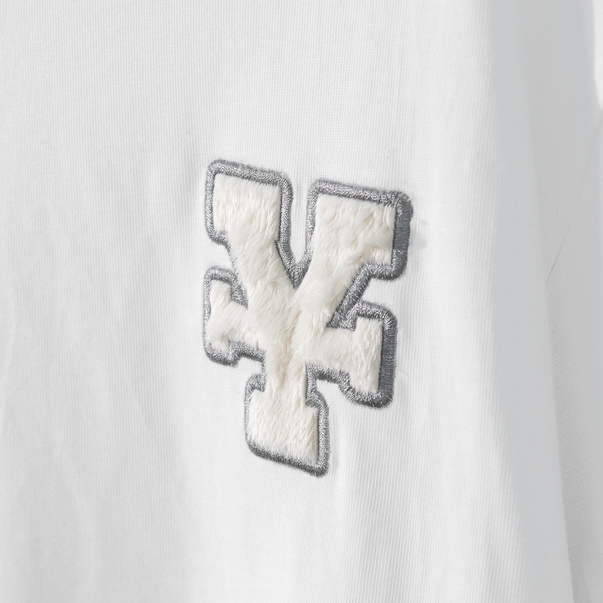 DirtyCoins Y Basic T-Shirt - White