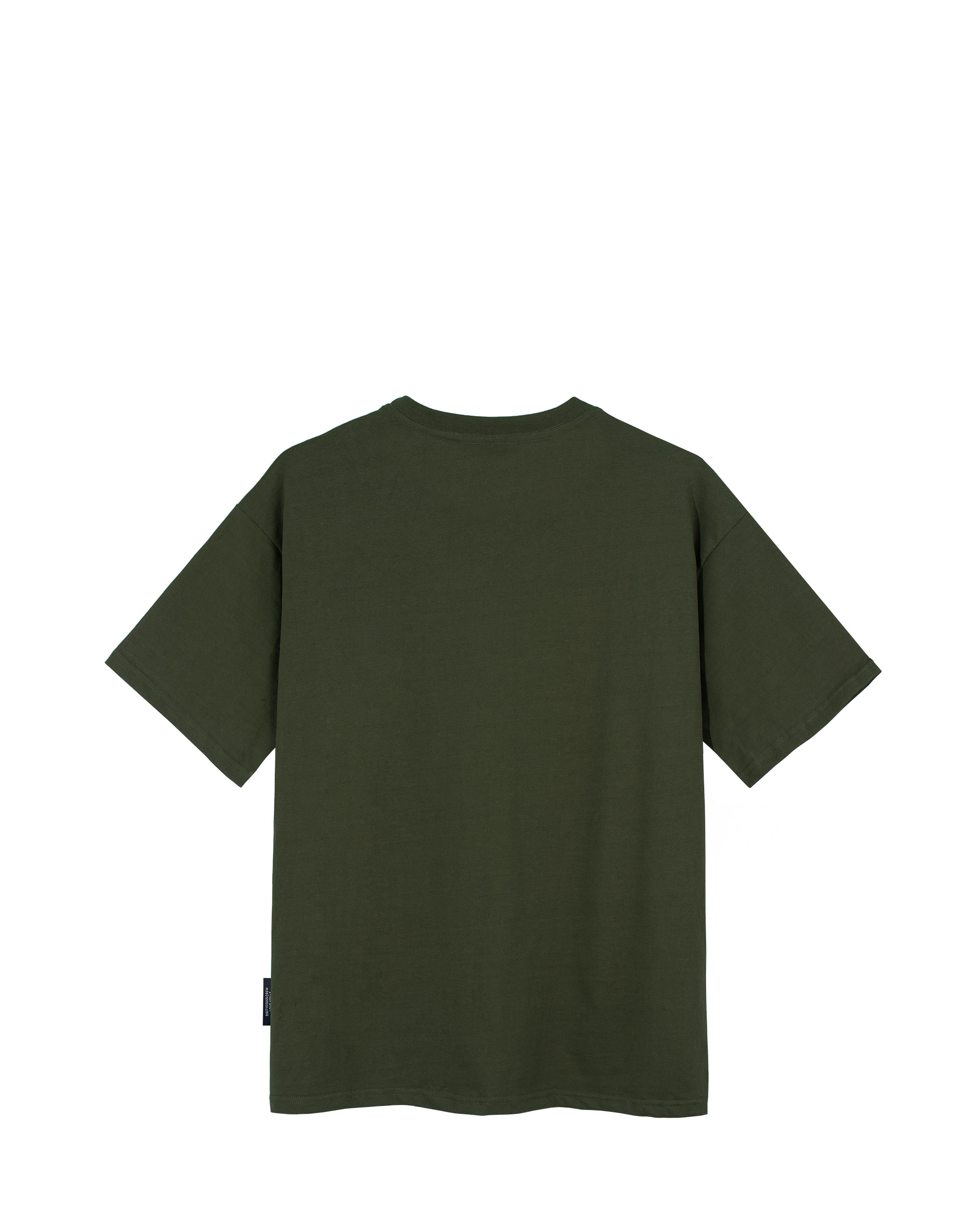 DirtyCoins Serif T-Shirt - Olive