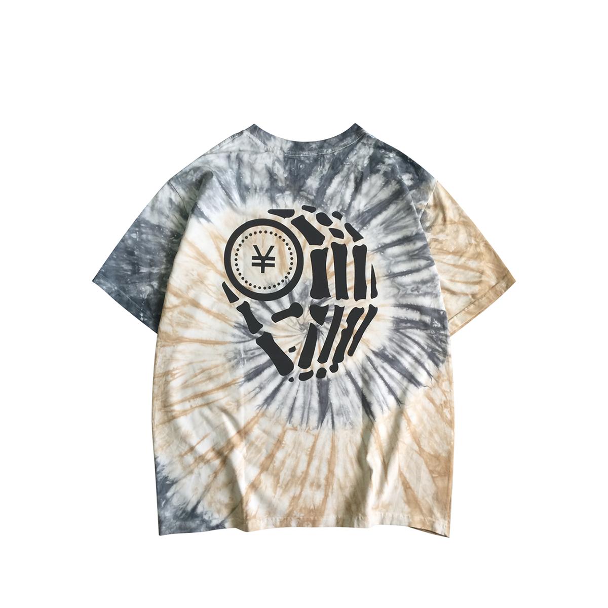 Hologram Jupiter Tie-dye T-shirt
