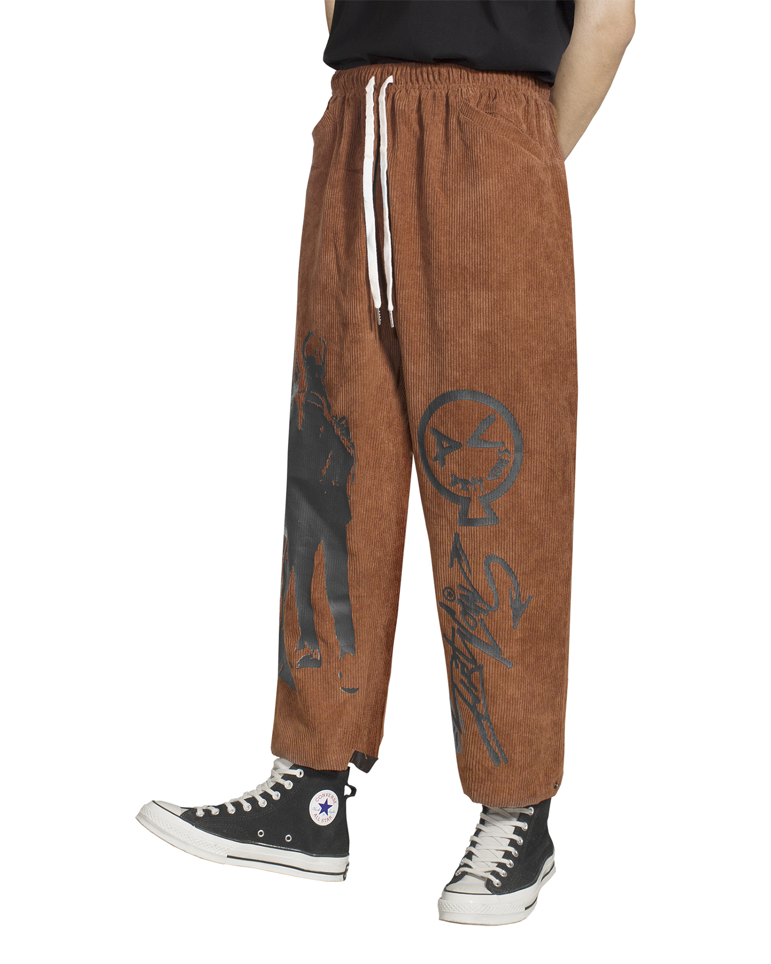 Corduroy KSA Pants - Copper Brown