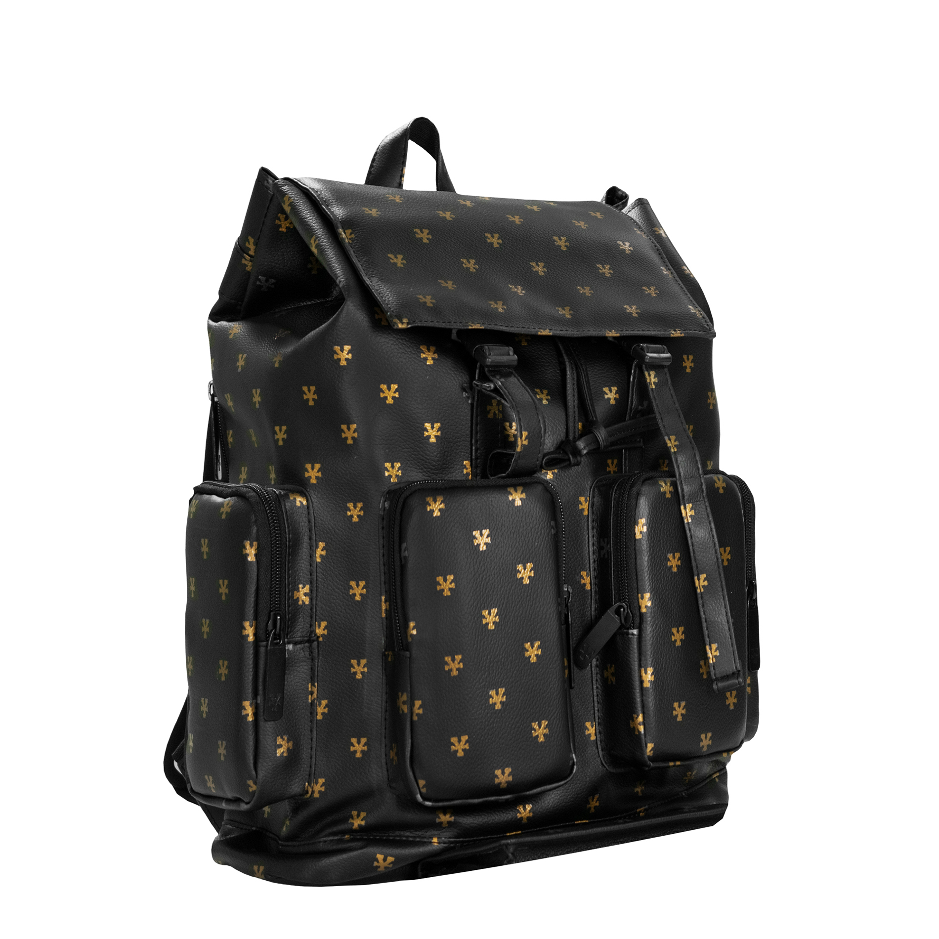 Logo Pattern Backpack