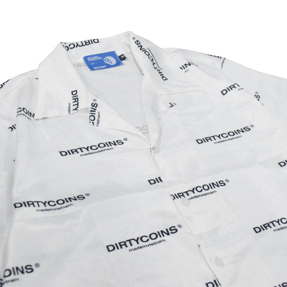 Dirtycoins Logo Pattern Shirt