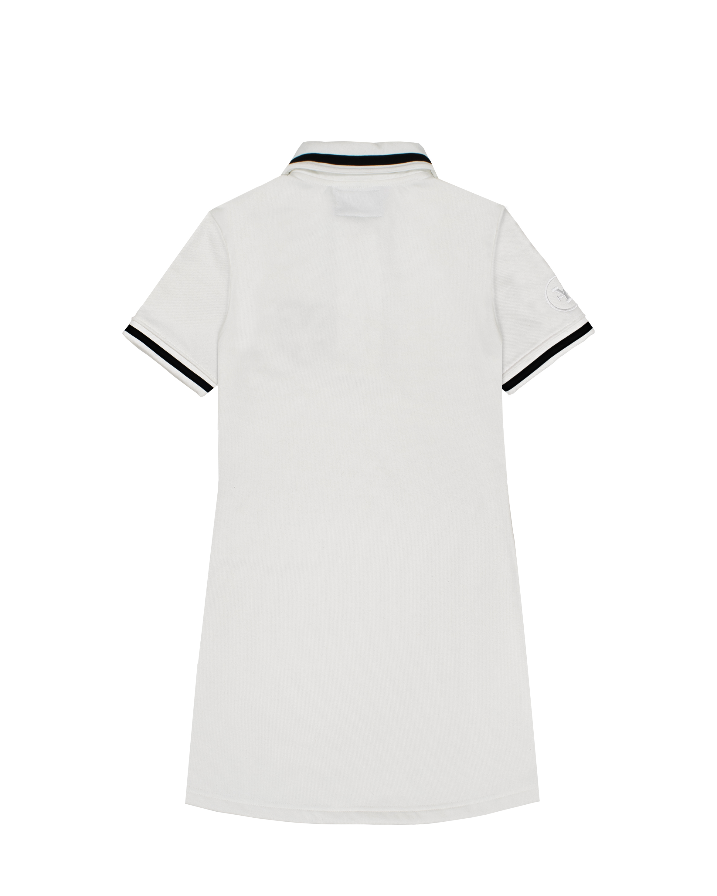 DirtyCoins Logo Polo Dress