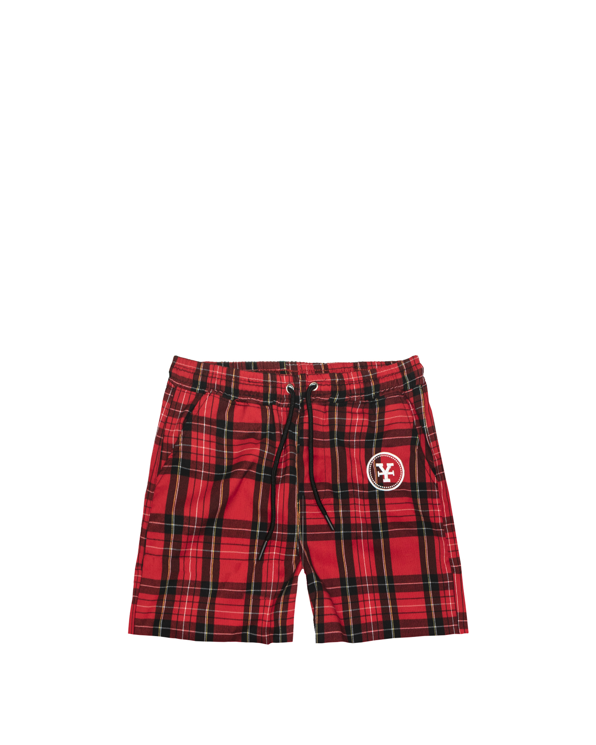 DirtyCoins Plaid Shorts In Bred